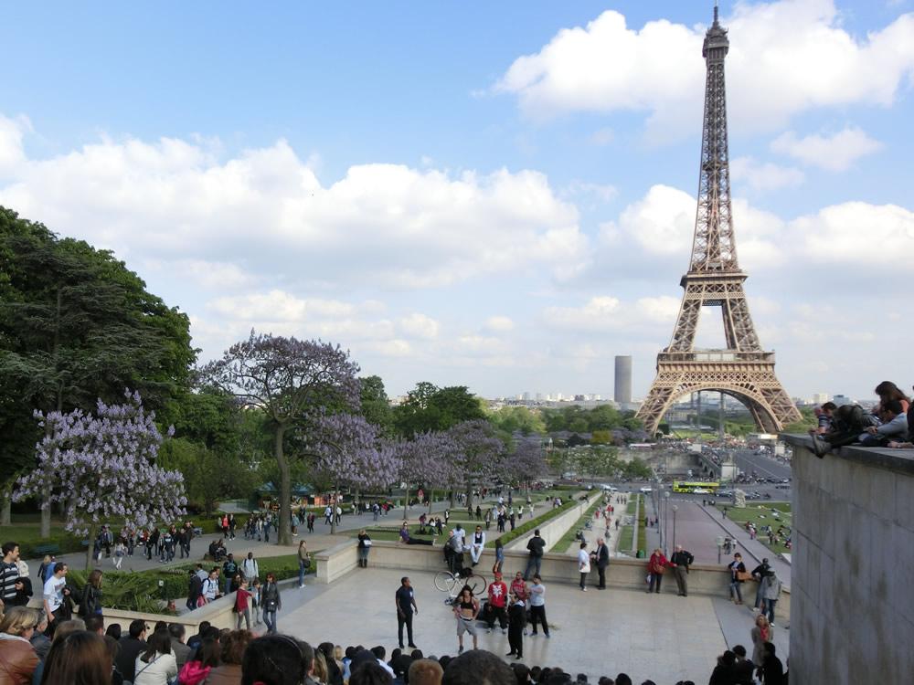 遠くを見ながら足元を見るために Paris編