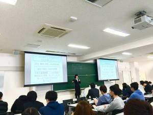 亜細亜大学「都市創造学部」オリエンテーションゼミナール(1回目)で講演