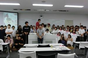 亜細亜大学「街づくり論」(武蔵野市)から「吉祥寺Tシャツプロジェクト」誕生!